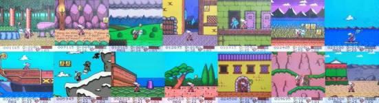 Ein paar Bilder aus den vielen Levelabschnitten