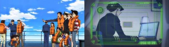 Welkches Geheimnis trägt die junge Kapitänin mit sich herum?