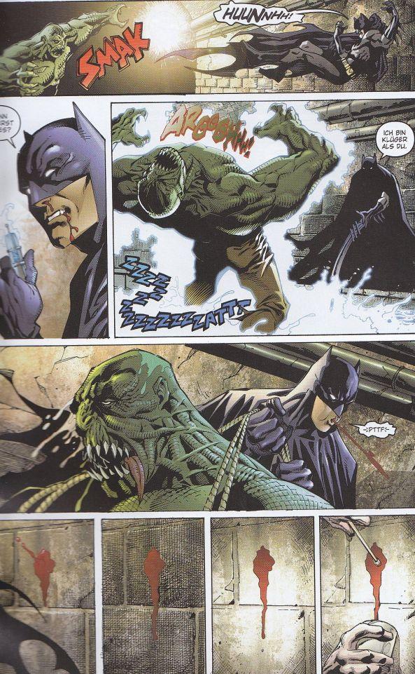 Batman verliert Blut
