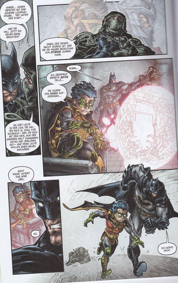 Preview zuBatman/Teenage Mutant Ninja Turtles: Der dunkle Ritter in New York.