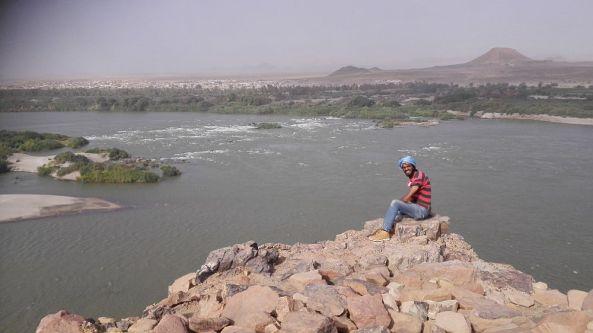 Die Aussicht am Nil