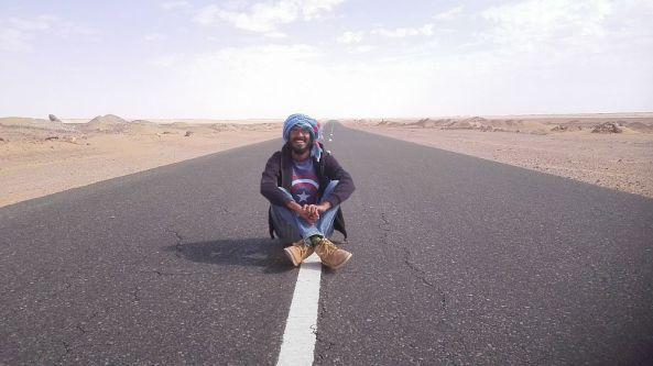Pause in der Wüste im Sudan