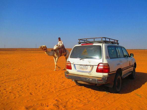 Die Fahrt durch die Wüste