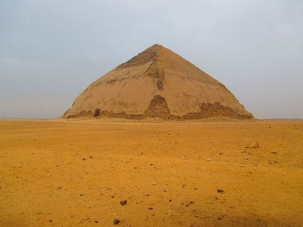 Die Pyramide mit dem Knick