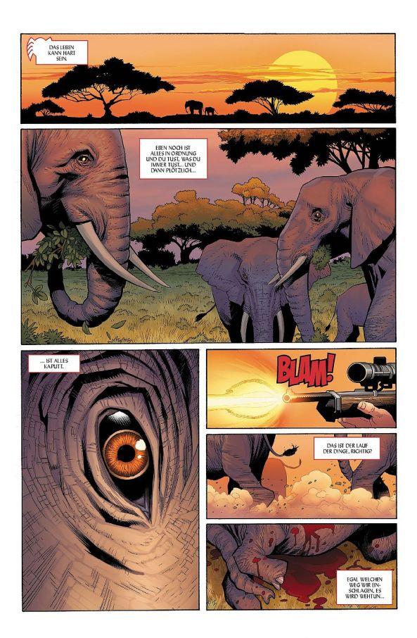 Was hat Afrika und ein Elefant mit Spider-Man zu tun?