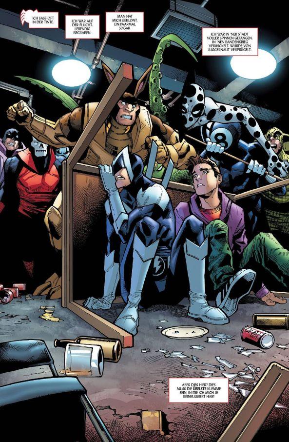 Peter Parker und Boomerang in der Bar ohne Namen