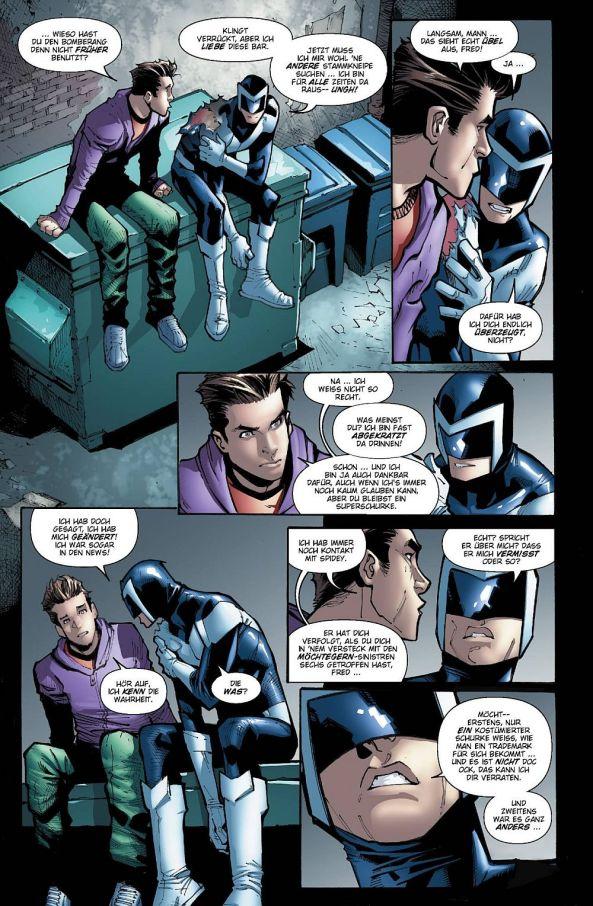 Kommen sich Fred Myers und Peter Parker näher?