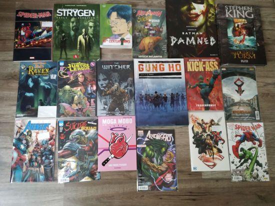 Comic Lieferung im Juli 2019