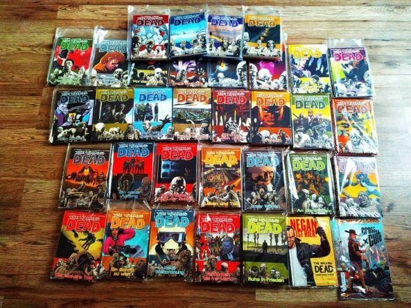Die Comics zur Serie