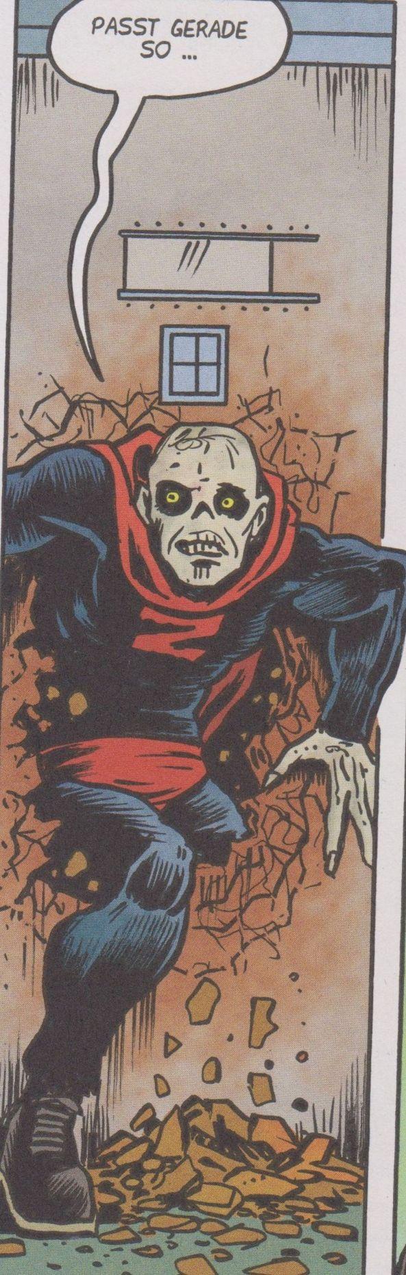 Zombieman entkommt aus seiner Zelle