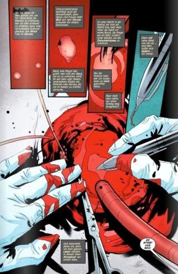 Eine blutige Operation