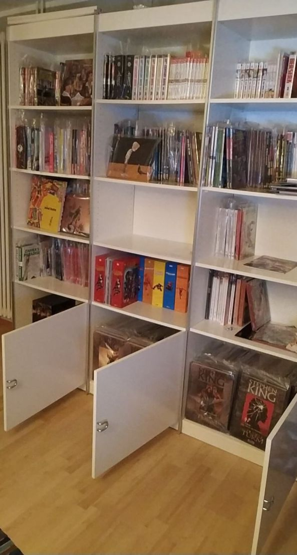 Hier sind jetzt meine Comics