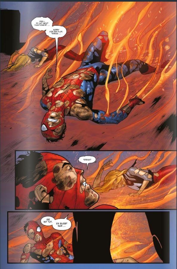 Spider-Man stirbt ...
