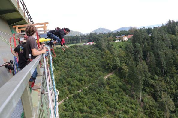 Bungee Jumping Kärnten