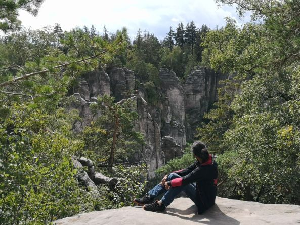 Wandern bei den Prachauer Felsen