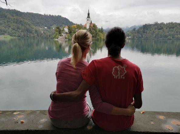 Ein wenig Romantik am Bleder See