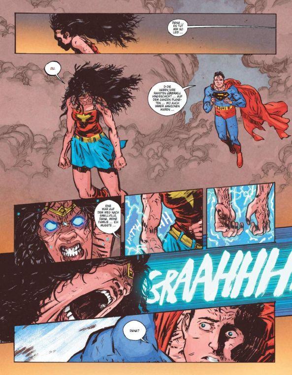 Was ist damals zwischen Superman und Wonder Woman geschehen?